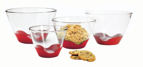Splash Proof Mixing Bowl With Silicone No Slip Base